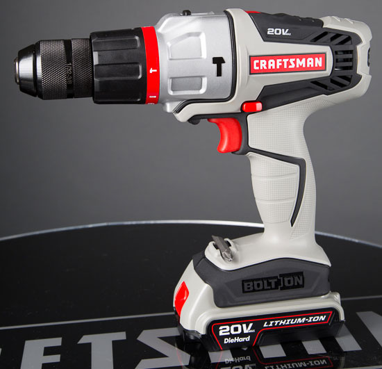 Craftsman Bolt-On 2-Speed Hammer Drill