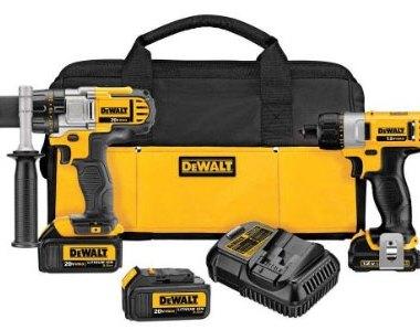 Dewalt DCK295L3 20V Drill 12V Screwdriver Combo