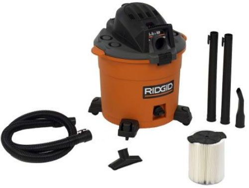 Home Depot Friday 2012 Ridgid Shop Vacuum