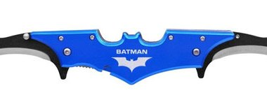 Blue Batman Batarang Knife