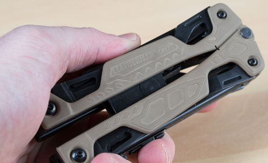 Leatherman OHT Multi-Tool in-Hand