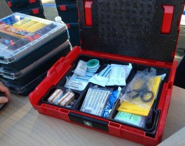 Bosch First Aid L-Boxx Open