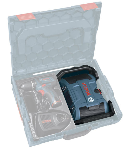 Bosch PB120 12V Jobsite Radio in L-Boxx