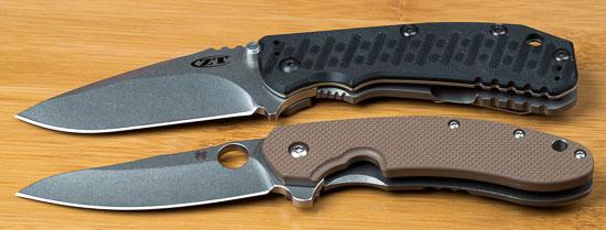 Spyderco Southard Knife Next to Zero Tolerance 550
