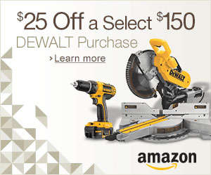 Amazon Fathers Day 2013 Dewalt Discount Promo