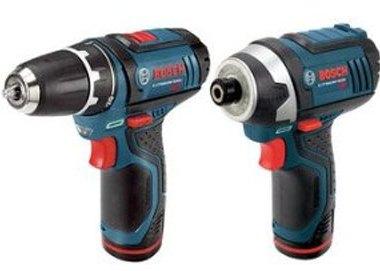 Bosch 12V Drill Impact Driver Combo Kit May 2013 Deal