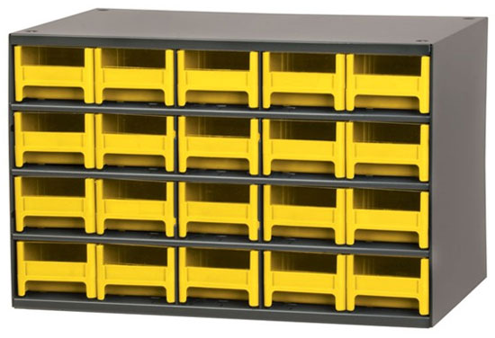 Akro Mils Storage Bin And Rack Set  Dandk Organizer