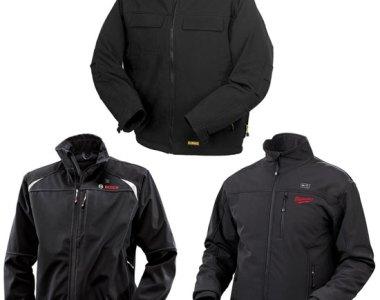 Dewalt Bosch Milwaukee Heated Jacket Comparison