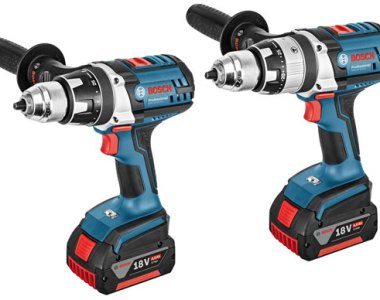 Bosch 18V Cordless Drills with Electronic Rotation Control