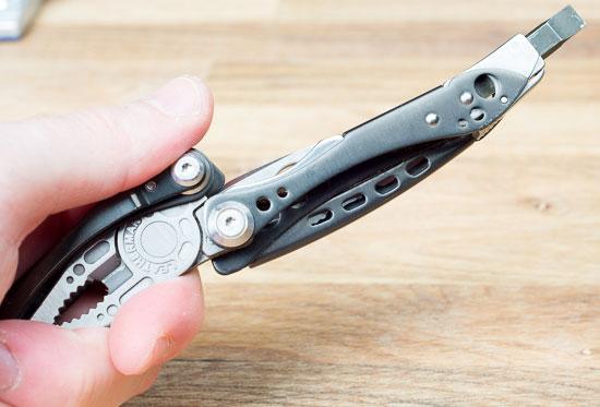 Leatherman Skeletool CX Multi-Tool Screwdriver Straight