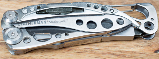 Leatherman Skeletool Closed