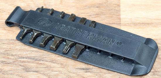 Leatherman Wave-Compatible Screwdriver Bit Card