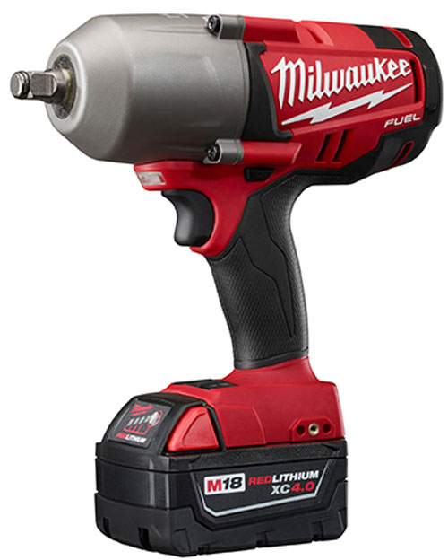 Milwaukee M18 Fuel Brushless Impact Wrench Half Inch Ring