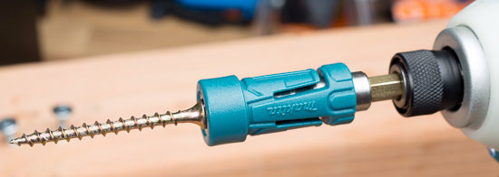 Makita Impact Gold Ultra Magnetic Bit Holder with Screw