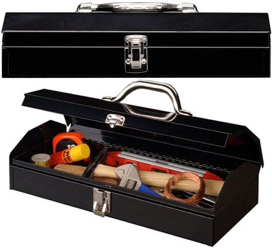 Stack-On 15-inch Steel Tool Box