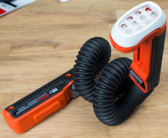 Black and Decker SnakeLight Coiled