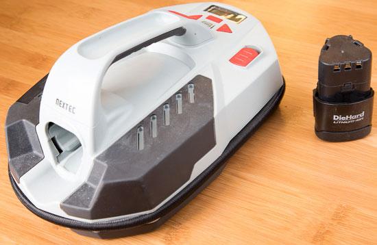 Craftsman Nextec Inflator Battery Removed