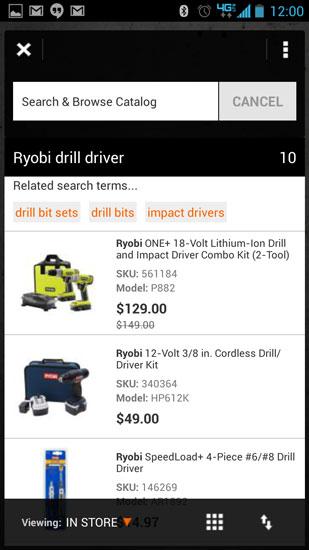Home Depot Pro App Mic Test Ryobi Drill Driver