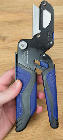 Kobalt Triple Cut Small Cutter Utility Knife Mode