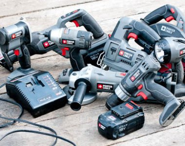 Porter Cable 18V Power Tool System