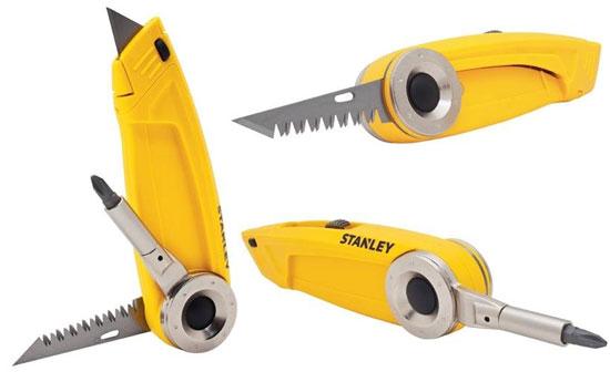 Stanley Utility Knife Multi-Tool Functions