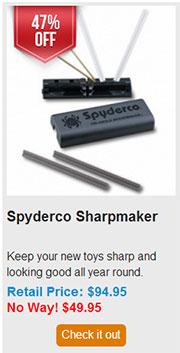 Blade HQ Black Friday 2013 12 Spyderco Sharpmaker Deal