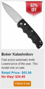 Blade HQ Black Friday 2013 13 Boker Kalashnikov Deal