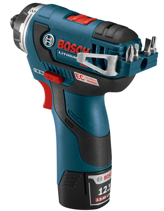 Bosch 12V Max EC Brushless Driver PS22 Bit Holder