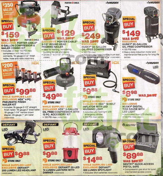 Home Depot Black Friday 2013 Tool Deals Page 10