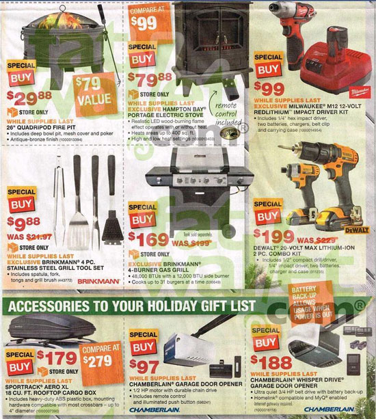 Home Depot Black Friday 2013 Tool Deals Page 5