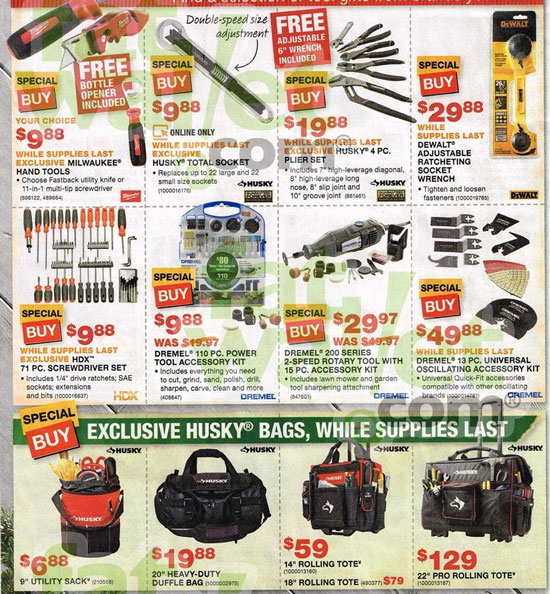Home Depot Black Friday 2013 Tool Deals Page 8