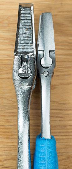 Husky Reversa Adjustable Wrench Channellock Comparison Side