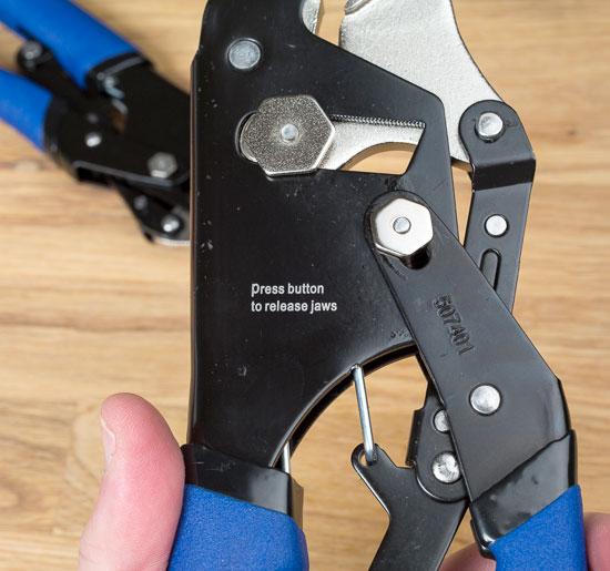 Kobalt Magnum Grip Locking Pliers Button Instructions