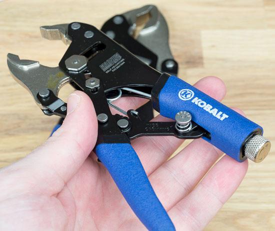 Kobalt Magnum Grip Locking Pliers Wider Opening