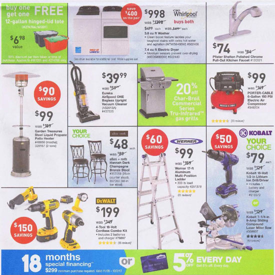 Lowes Black Friday 2013 Tool Deals Page 2