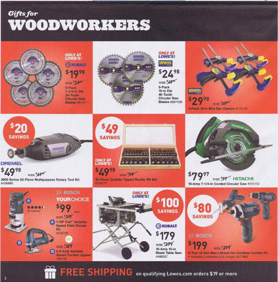Lowes Black Friday 2013 Tool Deals Page 4