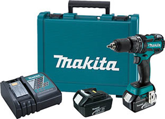 Makita XPH06 Brushless Hammer Drill Kit