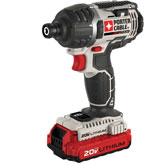 Porter Cable 20V Impact Driver Black Friday Special