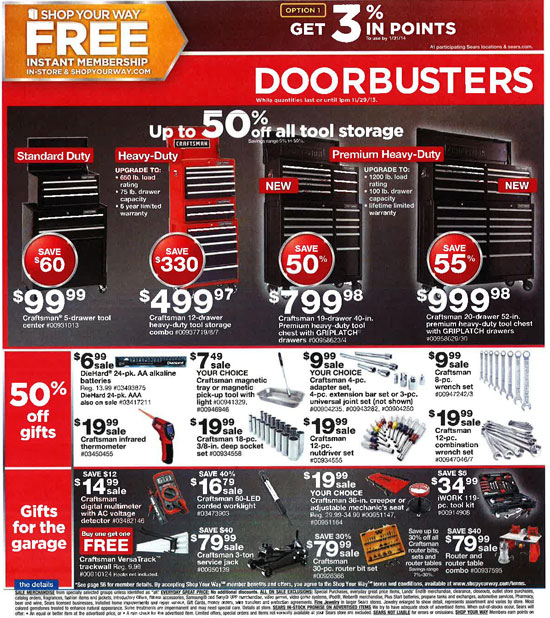 Sears Black Friday 2013 Tools Page 34