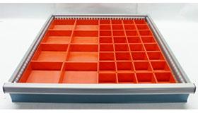 Schaller Small Parts Storage Bins