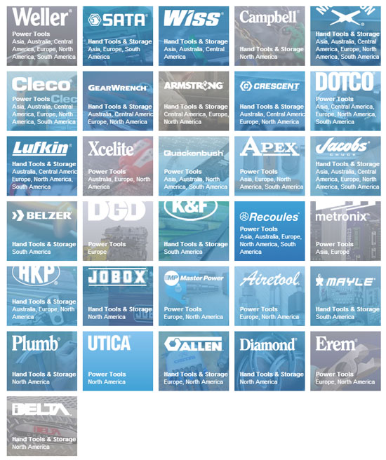 Apex Tool Group Brands