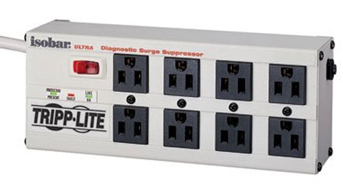 Tripp-Lite Isobar Surge Protector 8 Outlets