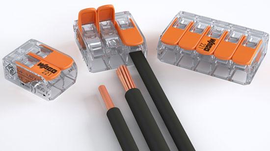 Wago 221-Series Lever Wire Connectors