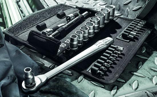 Wera Zyklop Metal Ratchet Socket Set