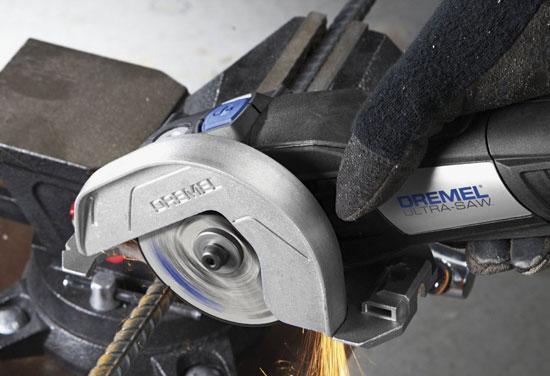 Dremel Ultra-Saw Cutting Metal