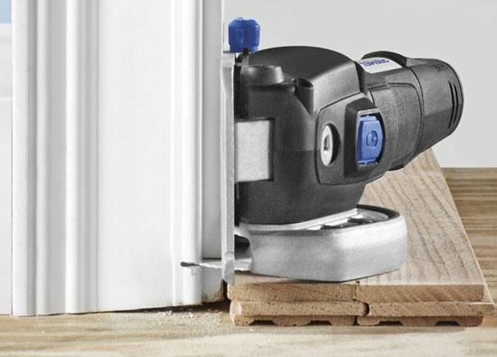 Dremel Ultra-Saw Flush-Cutting Wood Trim