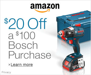 Amazon Bosch Fathers Day Discount 2014