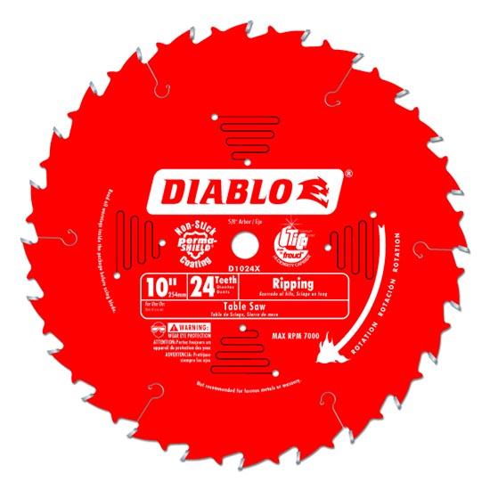 Diablo D1024X Ripping Saw Blade