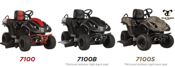 Raven MPV7100 Hybrid Mower Colors