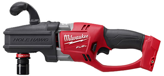 Milwaukee M18 Cordless Hole Hawg with Quik Lok Chuck